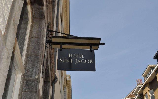 Boutique hotel Sint Jacob вид на фасад