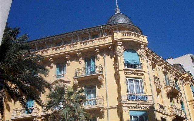 Отель Gounod Hotel Франция, Ницца - 7 отзывов об отеле, цены и фото номеров - забронировать отель Gounod Hotel онлайн вид на фасад