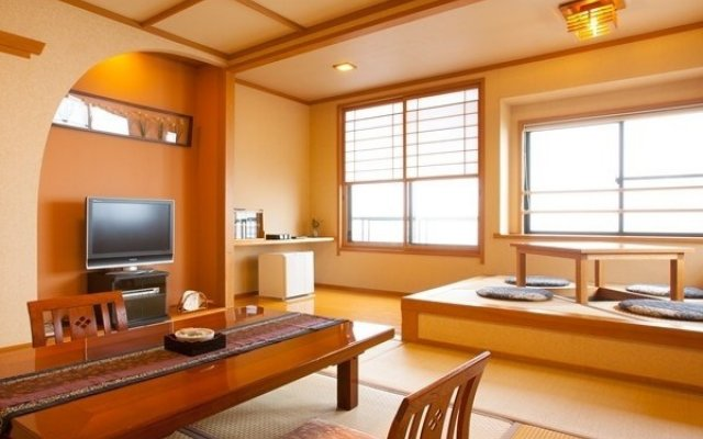 Отель Yasuragi No Yado Matsuya Минамиогуни комната для гостей