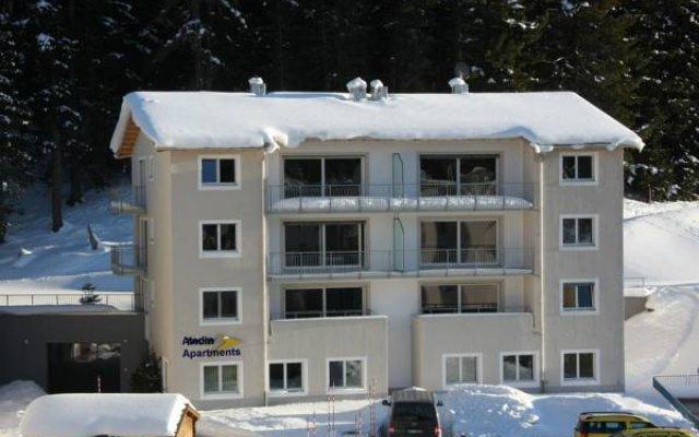 Отель Aladin Appartments St.Moritz Швейцария, Санкт-Мориц - отзывы, цены и фото номеров - забронировать отель Aladin Appartments St.Moritz онлайн вид на фасад