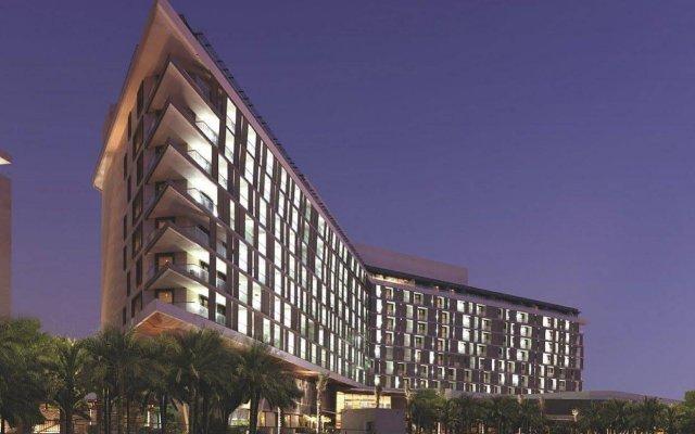 Radisson Blu Hotel, Abu Dhabi Yas Island вид на фасад