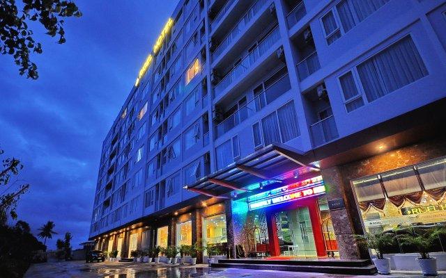 Отель Rigel Hotel Вьетнам, Нячанг - отзывы, цены и фото номеров - забронировать отель Rigel Hotel онлайн вид на фасад