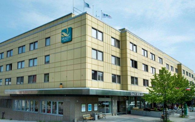 Отель Quality Hotel Lulea Швеция, Лулео - 1 отзыв об отеле, цены и фото номеров - забронировать отель Quality Hotel Lulea онлайн вид на фасад