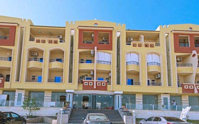 Отель Tiba Resort вид на фасад