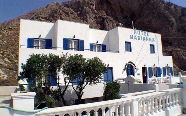 Hotel Marianna вид на фасад