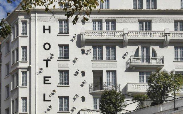 Отель Collège Hôtel Франция, Лион - отзывы, цены и фото номеров - забронировать отель Collège Hôtel онлайн вид на фасад