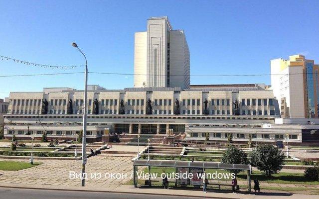 Апартаменты Alpha Apartments Krasniy Put' Омск вид на фасад