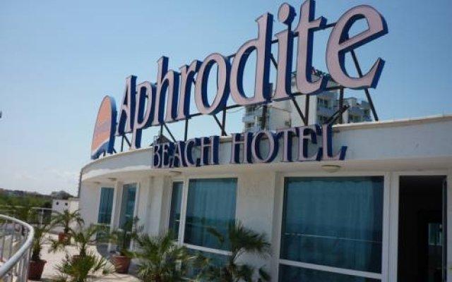 Aphrodite Beach Hotel вид на фасад