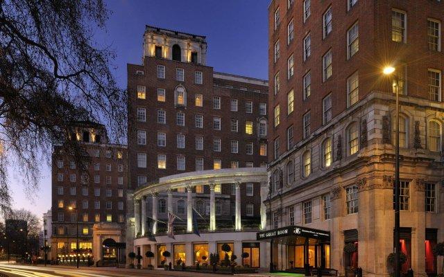 Отель JW Marriott Grosvenor House London вид на фасад