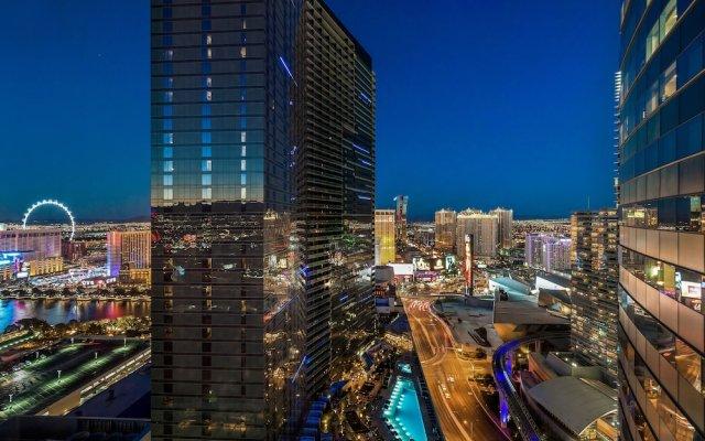 Отель Luxury Suites International by Vdara США, Лас-Вегас - отзывы, цены и фото номеров - забронировать отель Luxury Suites International by Vdara онлайн вид на фасад