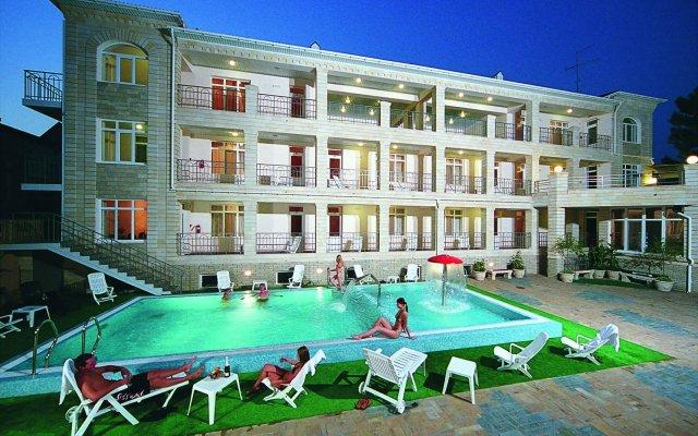 Гостиница Паллада вид на фасад