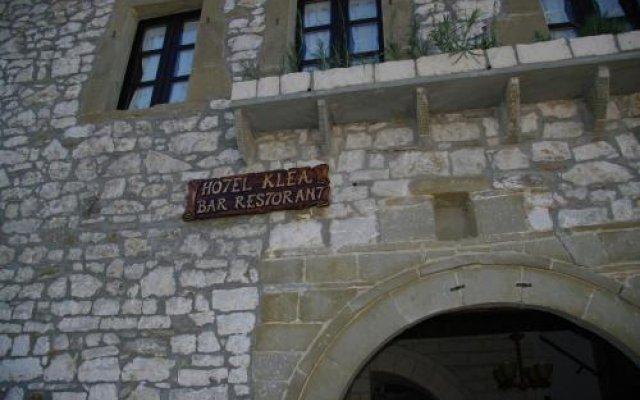 Hotel Klea Берат вид на фасад