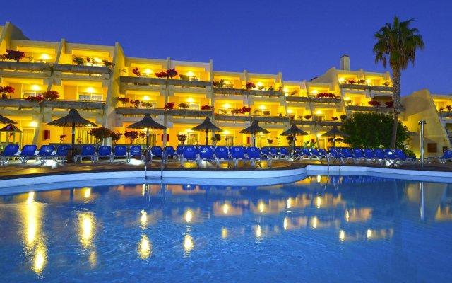 Отель Sol Fuerteventura Jandia Морро Жабле вид на фасад