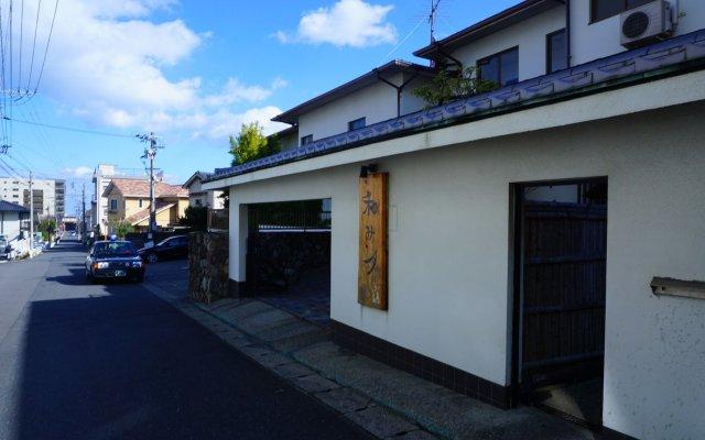 Отель Ryokan Nagomitsuki Беппу вид на фасад