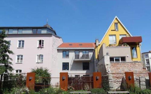 Отель Backbord Und Steuerbord вид на фасад