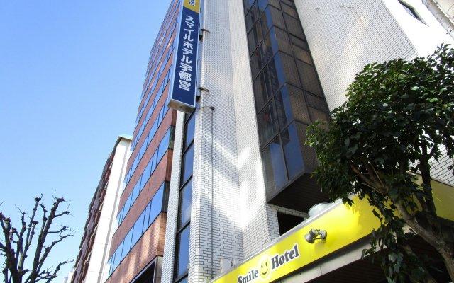 Отель Smile Hotel Utsunomiya Япония, Уцуномия - отзывы, цены и фото номеров - забронировать отель Smile Hotel Utsunomiya онлайн вид на фасад