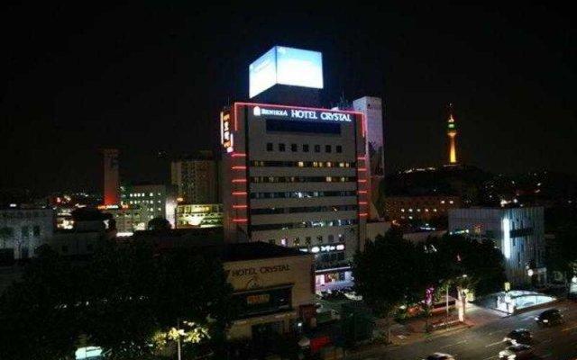 Отель Crystal Hotel Южная Корея, Тэгу - отзывы, цены и фото номеров - забронировать отель Crystal Hotel онлайн вид на фасад