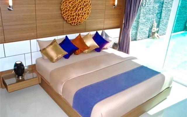 Отель Skylight 2 bedrooms New Villa in Kamala комната для гостей