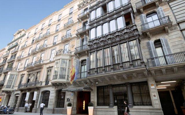 Отель Catalona Plaza Cataluña Испания, Барселона - 1 отзыв об отеле, цены и фото номеров - забронировать отель Catalona Plaza Cataluña онлайн вид на фасад