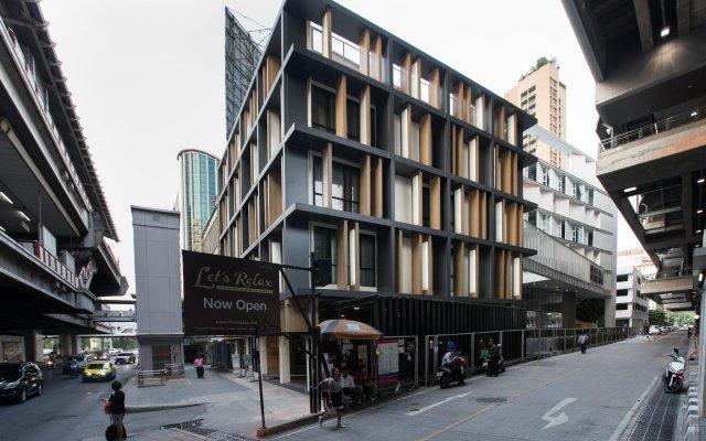 Отель TRANZ Бангкок вид на фасад