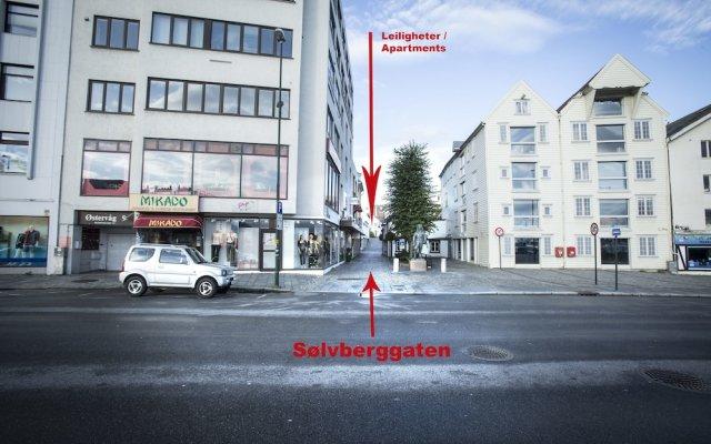 Отель City Housing - Sølvberggata 17 - Holgersen Apartments Норвегия, Ставангер - отзывы, цены и фото номеров - забронировать отель City Housing - Sølvberggata 17 - Holgersen Apartments онлайн вид на фасад