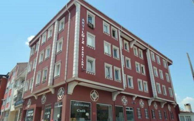 Akyildiz Aparts Турция, Эдирне - отзывы, цены и фото номеров - забронировать отель Akyildiz Aparts онлайн вид на фасад