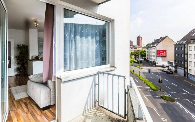 Апартаменты Star Apartments Cologne - Ankerstrasse Кёльн балкон