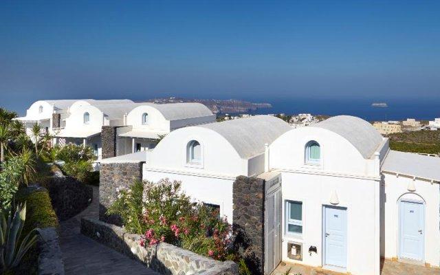 Отель Orizontes Hotel & Villas Греция, Остров Санторини - отзывы, цены и фото номеров - забронировать отель Orizontes Hotel & Villas онлайн вид на фасад