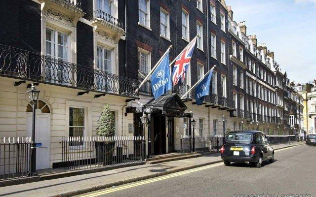 Отель Hilton London Green Park Великобритания, Лондон - 8 отзывов об отеле, цены и фото номеров - забронировать отель Hilton London Green Park онлайн вид на фасад