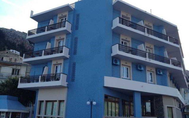 Отель Olympic Hotel Греция, Калимнос - 1 отзыв об отеле, цены и фото номеров - забронировать отель Olympic Hotel онлайн вид на фасад
