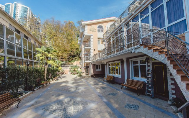 Гостиница Villa Polianna вид на фасад