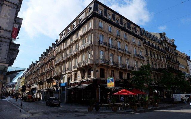 Отель ApartmentsApart Brussels Бельгия, Брюссель - 1 отзыв об отеле, цены и фото номеров - забронировать отель ApartmentsApart Brussels онлайн вид на фасад