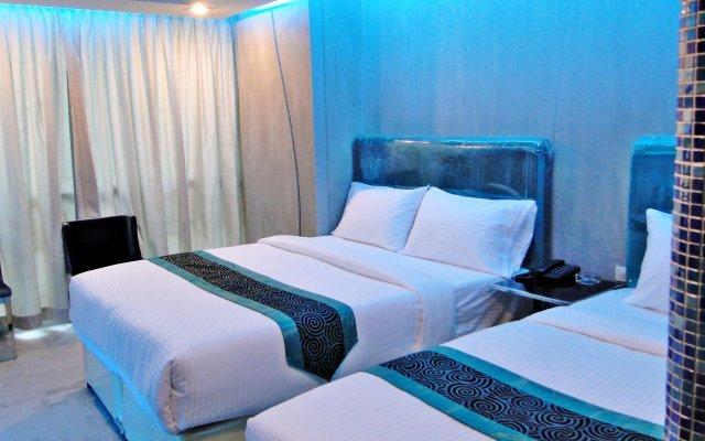 Отель BLUTIQUE Бангкок комната для гостей