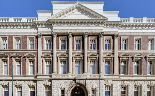 Отель Heritage Christchurch вид на фасад