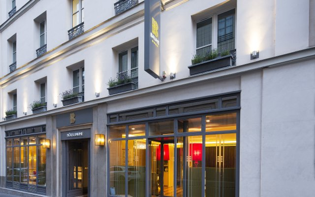 Отель Hôtel Baume вид на фасад
