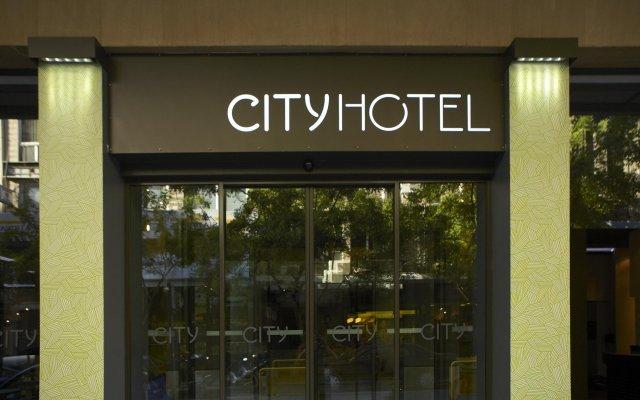 City Hotel Thessaloniki вид на фасад