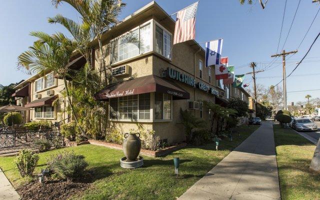 Отель Wilshire Crest Hotel Los Angeles США, Лос-Анджелес - отзывы, цены и фото номеров - забронировать отель Wilshire Crest Hotel Los Angeles онлайн вид на фасад