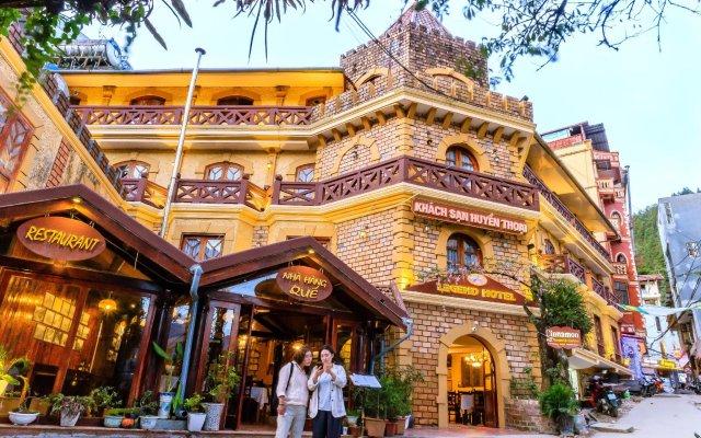 Отель Legend Hotel Вьетнам, Шапа - отзывы, цены и фото номеров - забронировать отель Legend Hotel онлайн вид на фасад