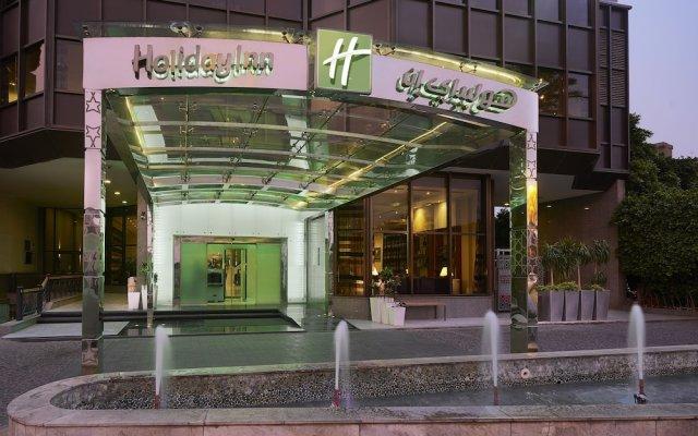 Отель Holiday Inn Cairo Maadi вид на фасад