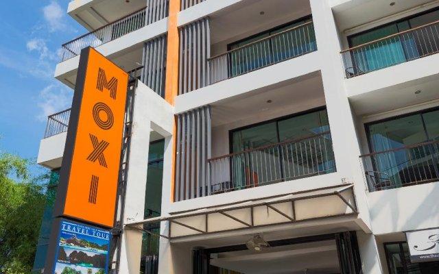 Moxi Boutique Hotel вид на фасад