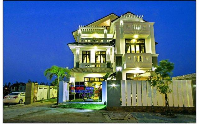 Отель Blue An Bang Villa вид на фасад