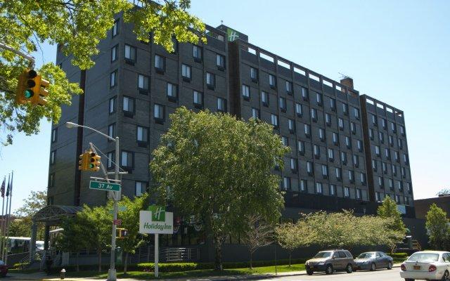 Отель Holiday Inn LaGuardia Airport США, Нью-Йорк - отзывы, цены и фото номеров - забронировать отель Holiday Inn LaGuardia Airport онлайн вид на фасад