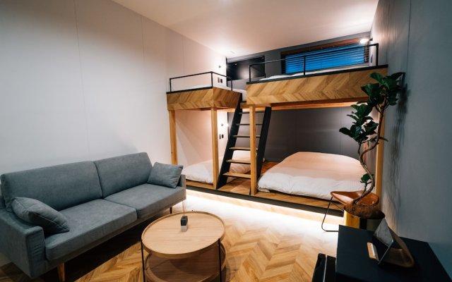 mizuka Daimyo 3 unmanned hotel Фукуока комната для гостей