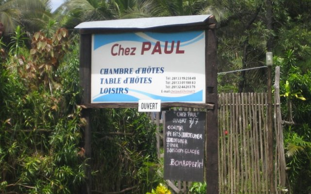 Chez Paul Ambodiatafana