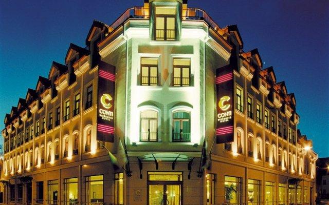 Отель Conti Литва, Вильнюс - - забронировать отель Conti, цены и фото номеров вид на фасад