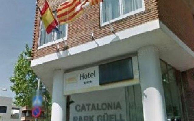 Отель Catalonia Park Güell вид на фасад