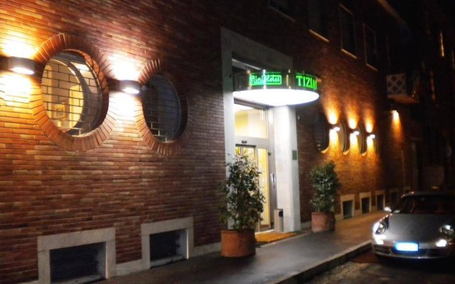 Hotel Tiziano Park & Vita Parcour Gruppo Mini Hotel Милан вид на фасад