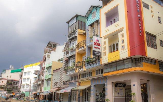 Dora Hostel Далат вид на фасад
