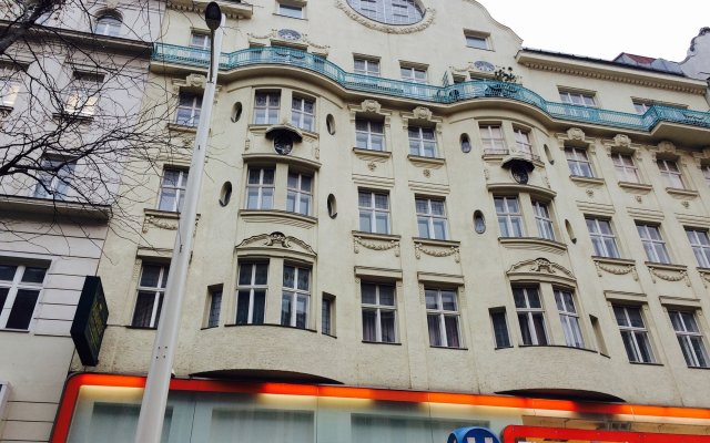 Pension Hotel Mariahilf вид на фасад