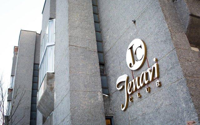 Мини-отель Jenavi Club Санкт-Петербург вид на фасад